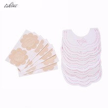 Ishine Invisible Strapless Backless Bra Pad Cleavage Enhance Stick Nipple Cover Drop Shipping Bra Free Shipping