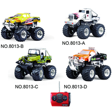 RC Car Mini Bigfoot Car For Hummer Speed Racing Monster Car Sport Utility Vehicle Drift Remote Control Buggy Model Vehicle Toy(China)