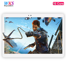 10 inch tablet PC 10 core Android 7.0 RAM Phone Call 4GB ROM 64GB 1920x1200 IPS Bluetooth tablets pcs smartphone computer MT6797(China)
