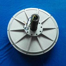 PMG450 2kw 180R vertical axis wind turbine generator disc coreless Low Rpm outer Rotor Three Phase Permanent Magnet Generator