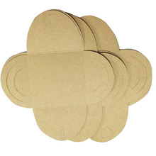 50Pcs 13*13cm CD Kraft Paper Sleeves dvd Bags Cover Envelope Sleeve Holding 1 Discs Kraft paper disc receive bag(China)
