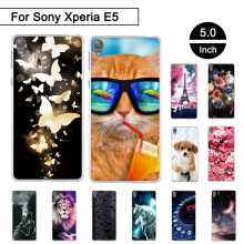 "Buy Case Sony Xperia E5 F3311 F3313 5.0"" Back Silicone Phone Cover Sony Xperia E 5 Soft TPU Fundas Sony Xperia e5 Shells for $1.10 in AliExpress store"