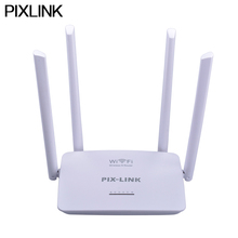 PIXLINK Router Wifi Repeater Wireless Router USB 802.11 B/G/N WPS 2.4G 300Mbps Network Router Extender Antenna Wifi Repitidor
