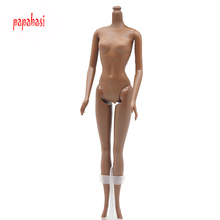1PCS Papabasi Black dolls body for Barbie DIY dolls body toys baby best gift  free shipping