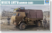 TRUMPETER 01009 M1078 2.5-ton light and medium-sized tactical truck armored cab type