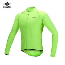 Santic Cycling Jacket Men Rainproof MTB Road Cycle Bike Jersey Wind Coat Road Bicycle Jacket Raincoat Clothing Ropa Ciclismo