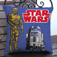 Manufacturers Direct Supply Cartoon Star Wars Printing Short Soft Plush Kids Throw Pillow Cushion For Home Chair