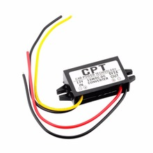 kebidumei 15W CPT-UL-1 DC Converter Regulator 12V to 5V 3A Car Led Display Power CPT Car Power Step Down Regulator(China)