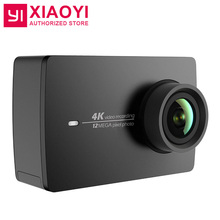 "[International Version]Original Xiaomi YI 4K Action Camera 2 Ambarella A9SE Sports Camera 2 155 Degree 2.19"" 12.0MP CMOS EIS LDC"