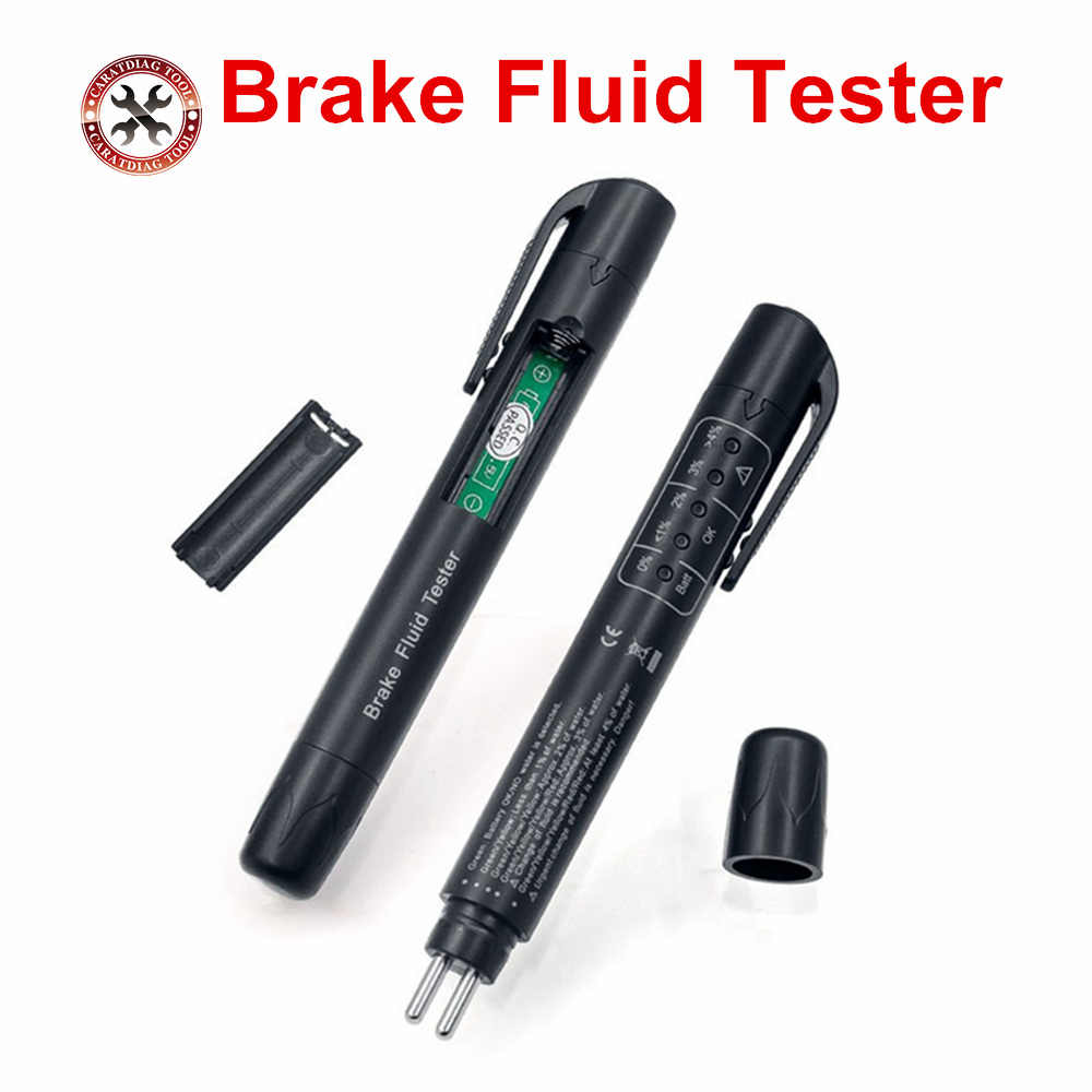 2019 New 100% High Quality Brake Fluid Tester Car Brake Fluid Digital Tester Suitable for Determining Brake Fluid drect Sell