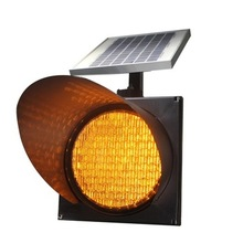 Led Traffic Light Factory With 300mm Solar Warning LED Traffic Signal On Sale