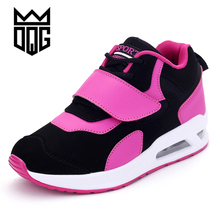DQG Womens Sports Shoes Brand Running Shoes For Women Athletic Trainers Sport Walking Sneakers Zapatillas Mujer Deportivas