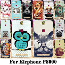 Buy Taoyunxi Silicone Phone Cover Case Elephone P8000 5.5 inch Bag Shell Cover Elephone P8000 Flexible Cat Dog Animal Cases for $1.62 in AliExpress store