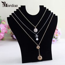 Mordoa Special Offer Neck Shape Straight 6 Type Necklace Jewelry Display Rack/Accessories Necklace/Pendant Frame Display Shelf