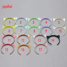 1PCS Cat Head Band Cute Headband for 1/6 Blythe Pulip Dolls as for 1/3 1/4 1/12 1/8 Barbie doll Hair Accessories(China)