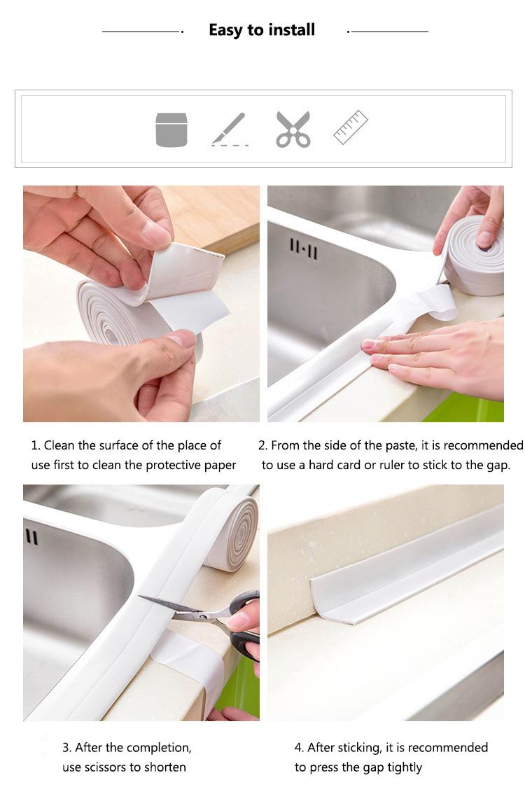 Waterproof tape use