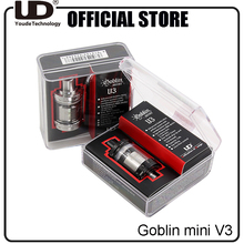 Youde UD Goblin Mini V3 RTA Atomizer for vape mod with Two 16mm Decks Tank builder choice VS Bellus RTA(China)