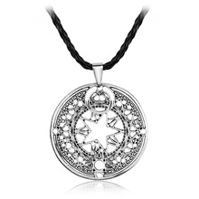 Fashion Anime Cardcaptor Sakura charm long Necklace girls & women Pendant jewelry factory outlet
