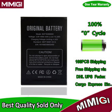 100PCS/Lot 4000mAh Battery For Doogee X5max X5 Max PRO Batterie De batterij AKKU AKU via DHL UPS Fedex Cargo Etc.(China)