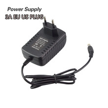 EU US Plug Power Supply Adapter AC 110-240V to DC 12V 3A For LED Strip Light Converter 36W Adapter Switch Power Supply Charger(China)