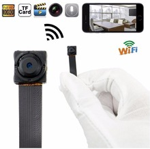 HD 1080P WIFI Mini Camera P2P DIY Wireless Camera Module Motion Activated DV Camcorder Remote control for Andorid or IOS phone(Hong Kong)