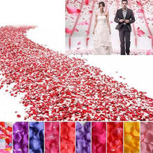 500pc Simulation Of Petals Handing Flowers 500pcs Rose Petals Wedding Flower Petals
