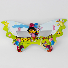 12pcs Dora Cartoon Pattern Theme Party Mask kids Birthday Party Decorations Christmas Eye Cover Party Supplies