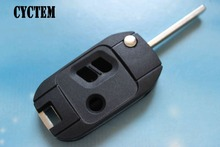 CYCTEM 2+1 Buttons Modified Flip Folding Remote Key Shell Car Alarm Keyless Entry Fob Blank Case Fit For Subaru(China)