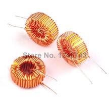 5PCS Special Offer High Standard 220uH 3A Brass Tone Toroid Core Inductor Coil Wire Wind Wound for DIY