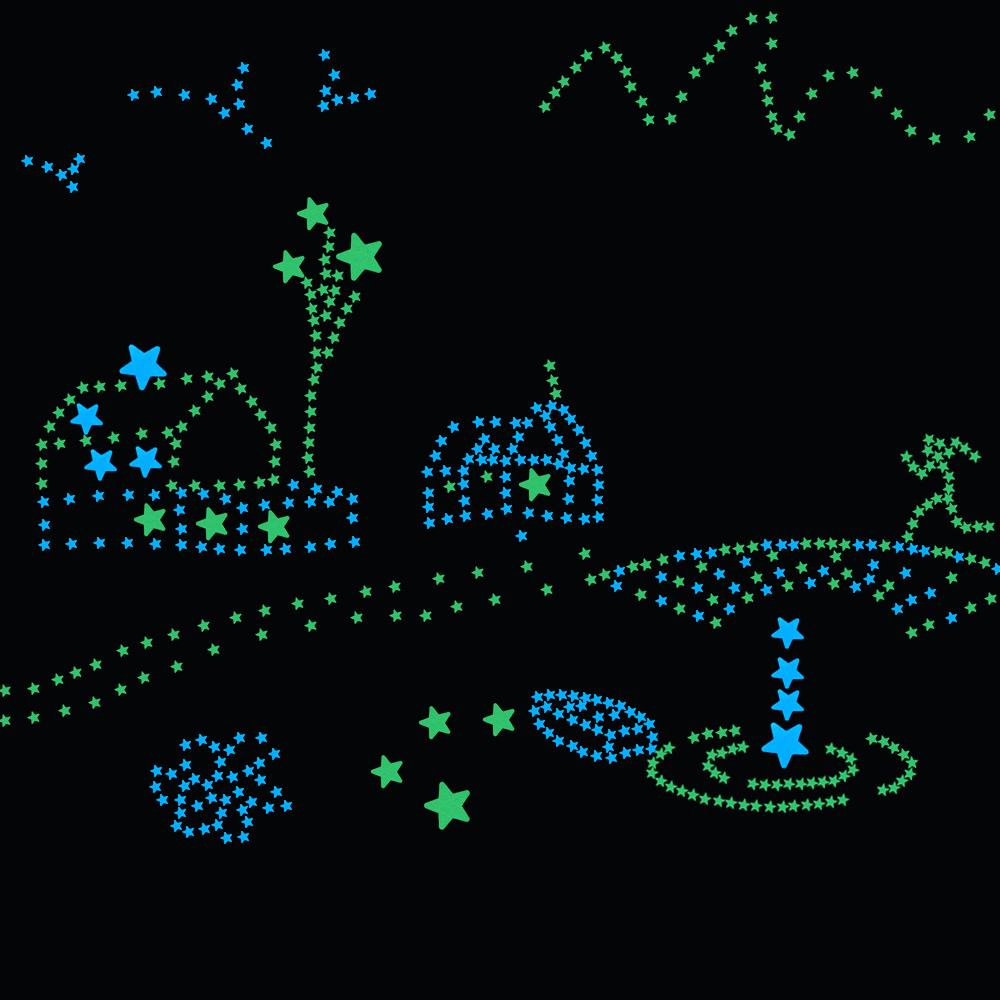 HTB1Gxu9RVXXXXcSXXXXq6xXFXXXn - 100pcs Fluorescent Glow in the Dark Stars Wall Stickers for Kids Rooms