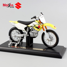 1:18 scale Child's mini SUZUKI RM-Z 250 metal model motorcycle kids auto bike toys race car Diecasts & Toy Vehicles for boy 2017