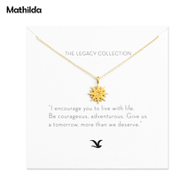 Sparkling Cutout Starburst Necklace Gold Dipped Necklace Clavicle Chain Statement Necklace Women Jewelry E039