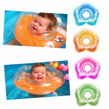 New Baby Inflatable Swimming Neck Float Inflatable Tube Ring Safety Child Swim Toys