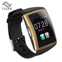 TTLIFE Newest 518 Smartwatch TF SIM Card Bluetooth Sleep Tracker Smart Watch Man Woman Gold Smart Wrist Clock For Android Phones(China)