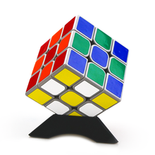 Hot 5Pcs Multicolor High Quality Compact Plastic Speed Magic Cubes Base Holder Frame Baby Kids Educational Toys Game Gifts 2016(China)
