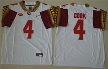 New Arrival High Quality Nike Florida State Seminoles Dalvin Cook 4 College  Jersey - White Size M,L,XL,XXL,3XL