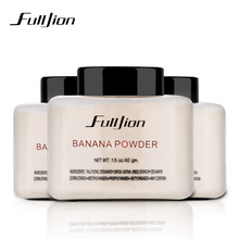 Fulljion Banana Loose Powder Makeup Whitening Skin Oil-Control Base Face Powder Cosmetic For Face Foundation Beauty