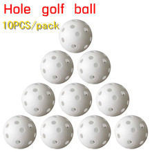 Free Shipping 10pcs/bag Indoor golf balls , golf practice balls, golf ball into the hole, Golf Training Aids