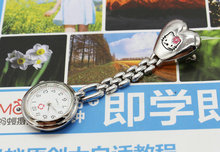 Free Shipping 10pcs/lot wholesales hot sales cute hello kitty nurse dolphins alloy Stainless steel women pocket watch