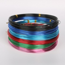 hot- 12 Colored Aluminum Wire Craft Jewelry Making 1.5mm, sold per lot of 1ROLL(5M)(China)