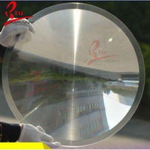 Diameter 200mm Focal Length 100mm Round  Plane Magnifier Solar Concentrator  Plastic Solar Fresnel Condensing Lens