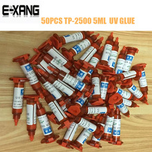 50PCS/LOT LCD uv glue OCA adhesive for iphone samsung touch screen glass replacement TP2500 5ML