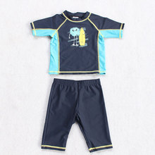 Swimsuit boys Beachwear Bathing traje de bano baby swimwear Swim Set Surf Sunsafe UPF Rash Guards swimwear baby boy