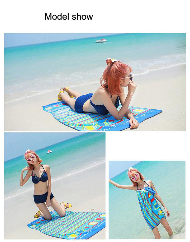 Micro Fiber Printed Beach Towel 140*70cm 37