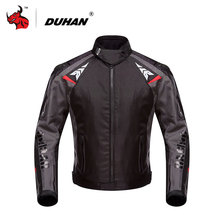 DUHAN Men's Oxford Waterproof Motorcycle Racing Jacket Professional Mesh Breathable Motorcycle Race Automobile Motorcycle Jacket(China)