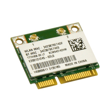 Broadcom BCM943142HM 300Mbps Mini Half PCi-E WiFi Adapter with Bluetooth 4.0 Adapter for Laptop PC DELL