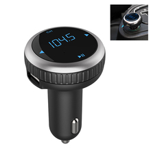 Car MP3 Player Wireless Bluetooth FM Transmitter FM Modulator Bluetooth Handsfree Car Kit LED Voltage Monitor SD USB Car Charger