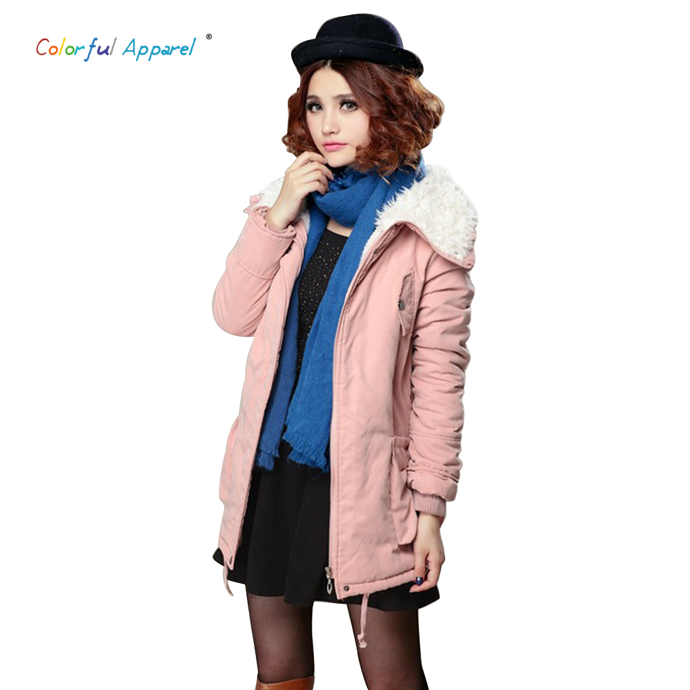 Colorful Apparel  womens autumn and winter coat fur collar coat cashmere coat long section of large size women B-2009Одежда и ак�е��уары<br><br><br>Aliexpress