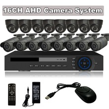 CCTV 1080P HDMI 16CH AHD Recorder DVR Security Camera System