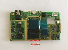 100% Tested Original new Work Well For  P780 Mother board Mainboard Main Mother Board 4GB Rom without volume button